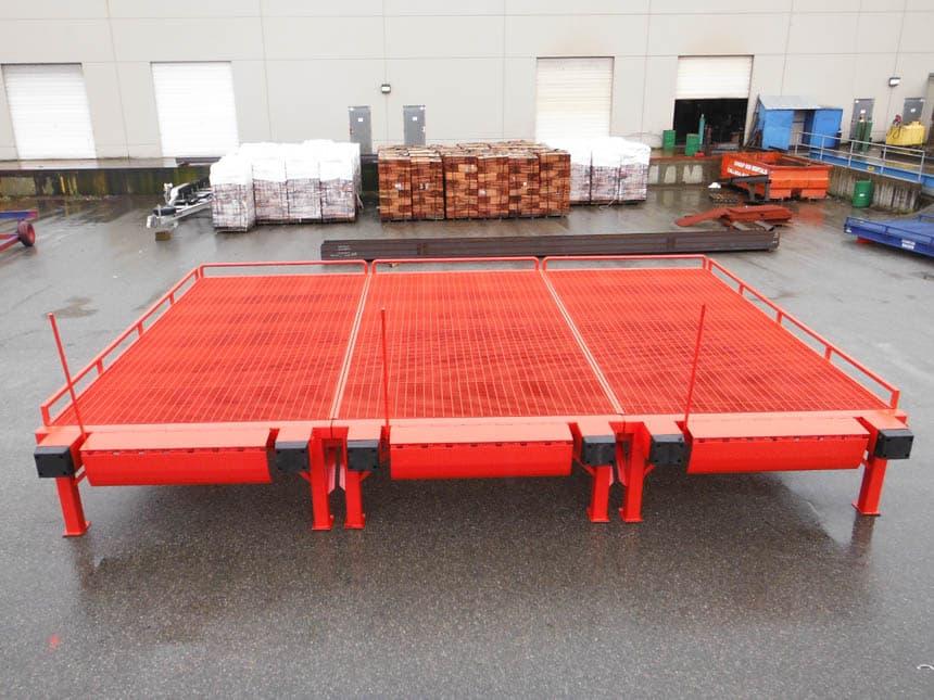 Custom Loading Ramps Amp Forklift Docks Professionally