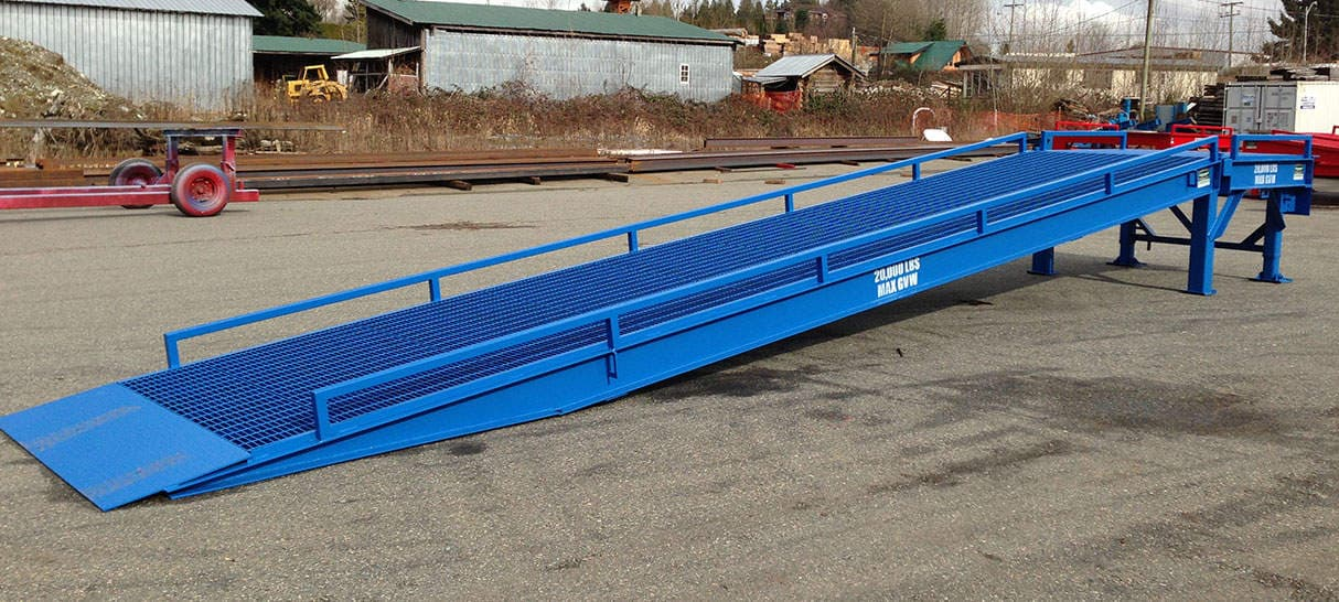 Ramp for Unloading Containers - Dura Ramp