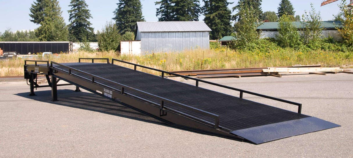 Dura-Ramp Pro Model loading dock