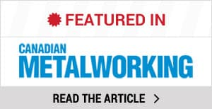 Dura-Ramp featured in Canadian Metalworking Magazine
