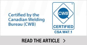 CWB Certified - Dura Ramp