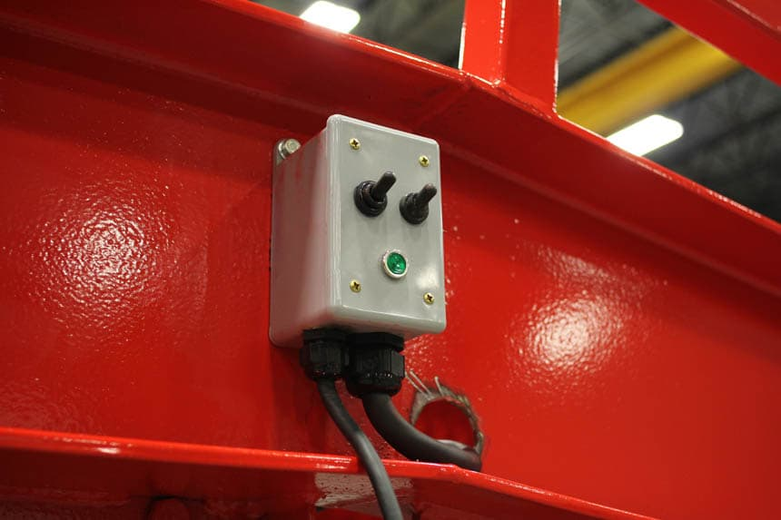 Lift Switch for Loading Ramp