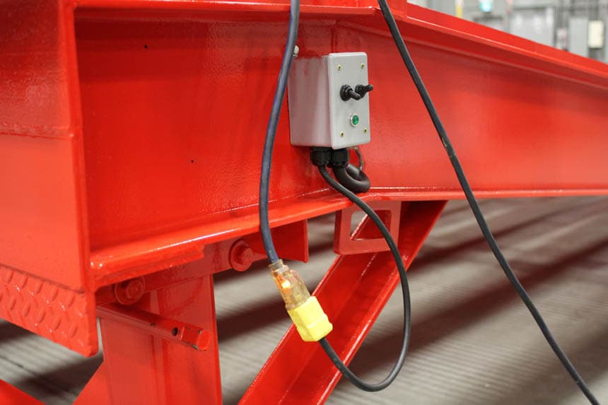 Electric Switch for Loading Ramp Lift
