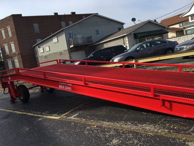 Used Portable Loading Ramp