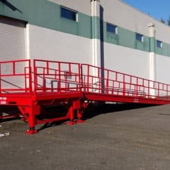 Custom Built Loading Ramp
