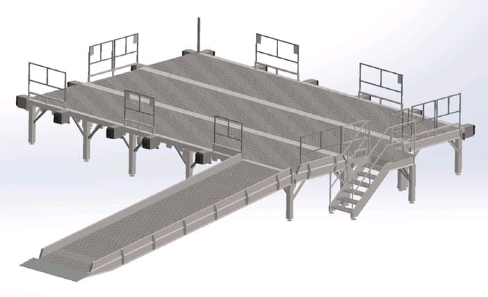 Custom Loading Ramp Drawing