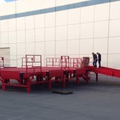 International Custom Loading Ramp