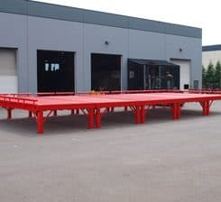 Custom Designed Loading Ramp