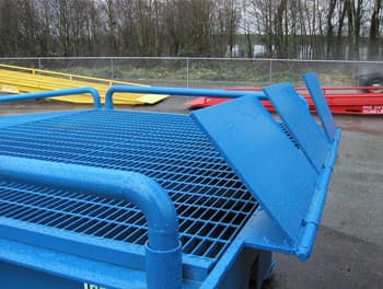 Loading Ramp Transition Plates