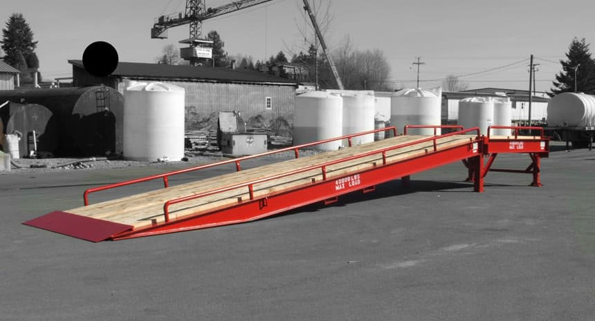 custom loading ramps