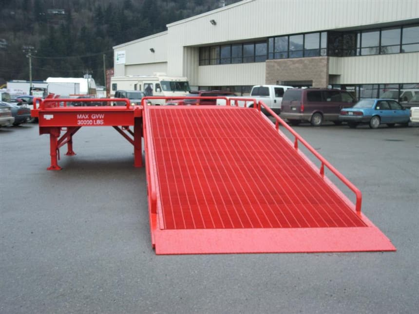 custom loading ramps portable
