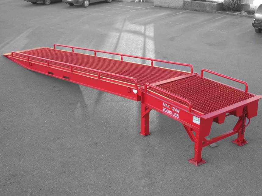 Portable Loading Docks Amp Forklift Ramps Portable Ramps
