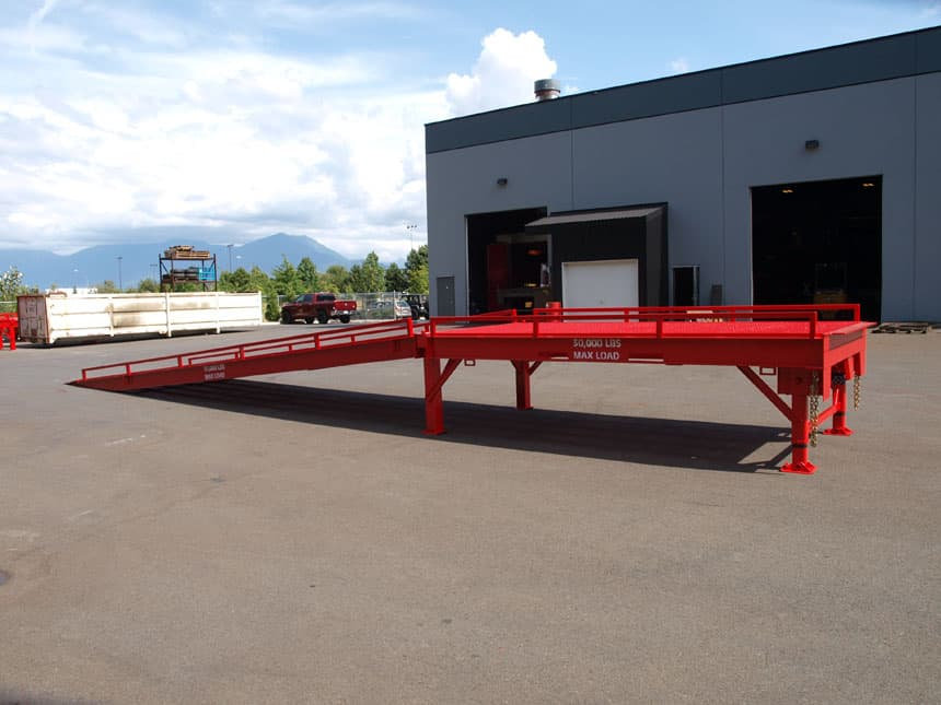 custom portable loading dock