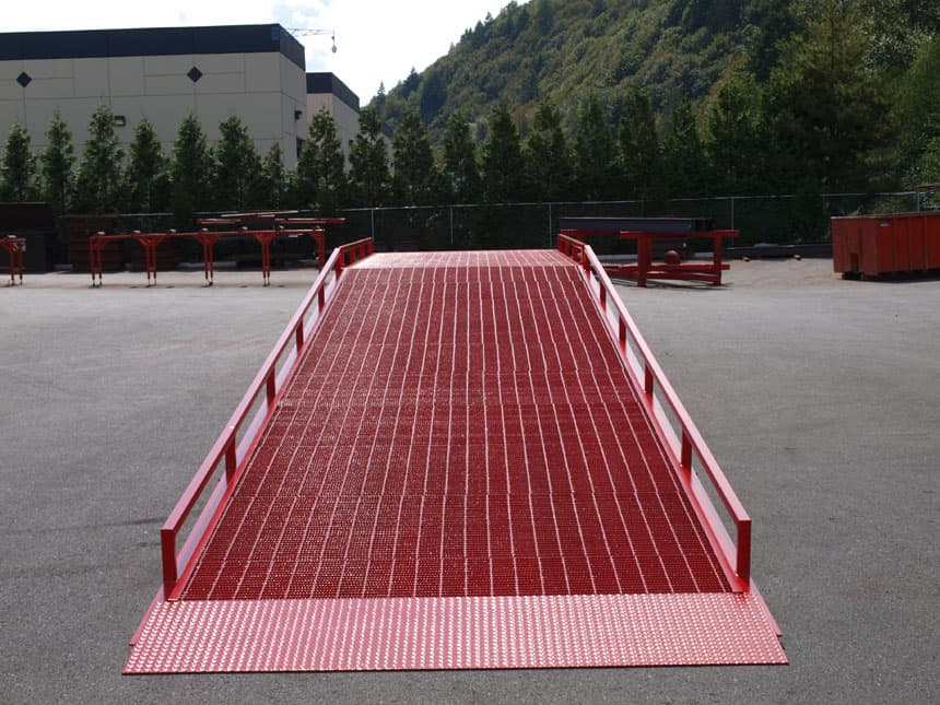 heavy duty custom loading dock