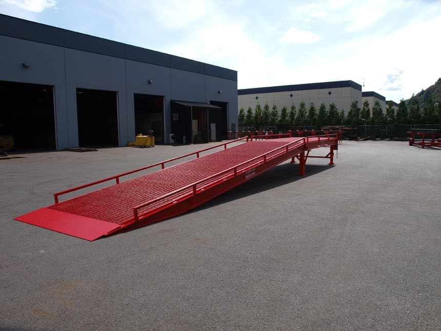 heavy duty loading dock