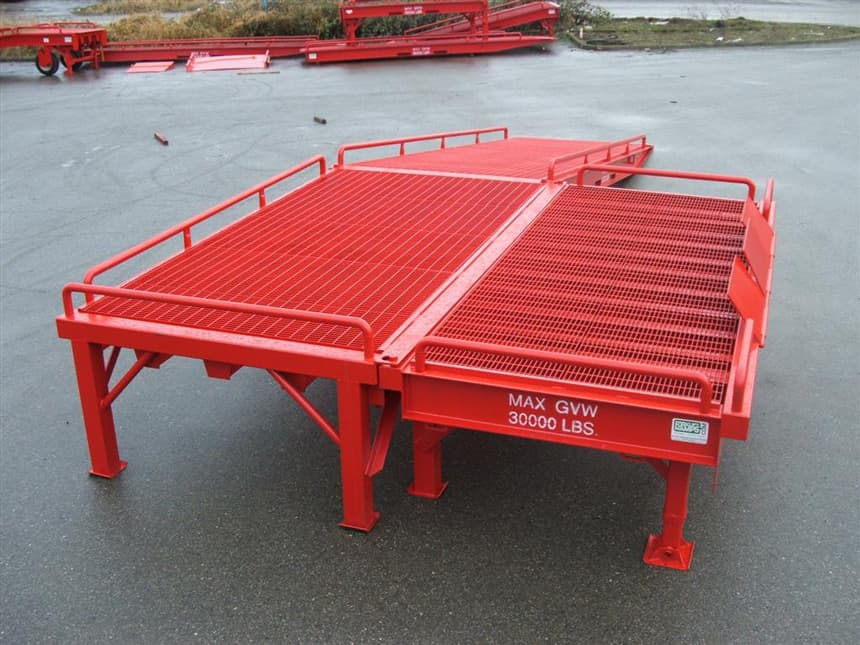 Railcar Loading Ramps Portable Ramps For Loading Railcars