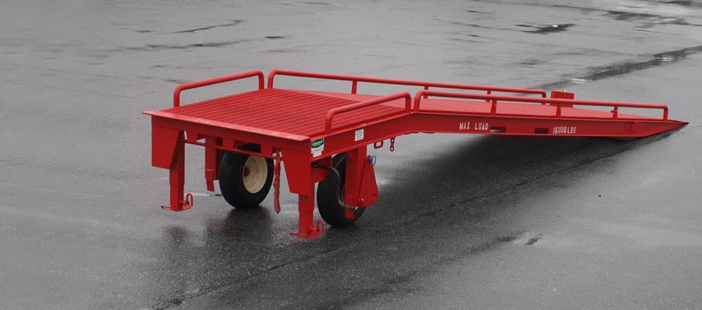 Portable Dock Ramp Rental Used Portable Loading Ramp For