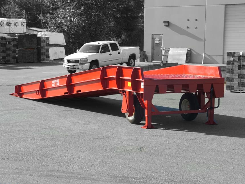 mobile portable loading ramps