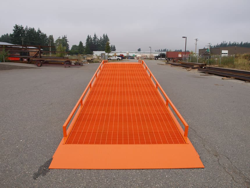 portable forklift ramps
