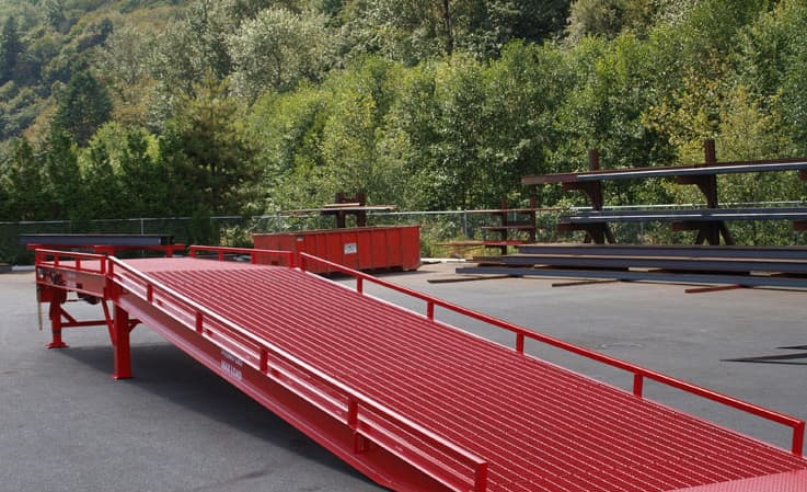 Heavy duty portable loading docks