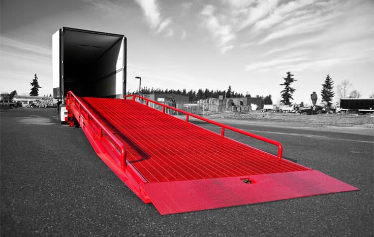 warehouse loading dock safety tips from Dura-Ramp
