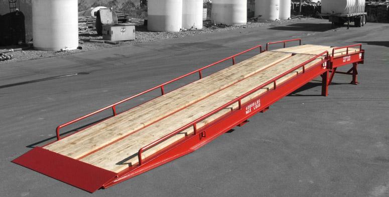Heavy duty loading ramp