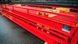 forklift loading ramp facility