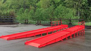 loading dock for warehouses
