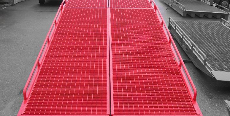 Loading ramp safety tips