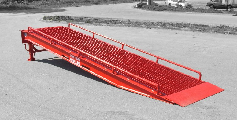 Inspecting a Loading Ramp